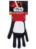 GUANTES FLAMETROOPER INFANTILES STAR WARS EPISODIO 7