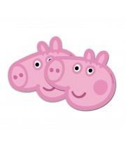 CARETAS PEPA PIG 6 UNIDADES
