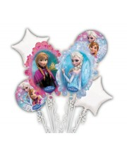 BOUQUET DE GLOBOS FROZEN