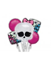 BOUQUETS DE GLOBOS MONSTER HIGH