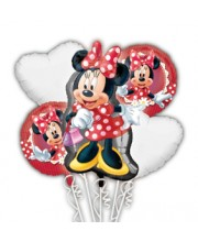 BOUQUET DE GLOBOS MINNIE