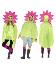 PONCHO FLOR IMPERMEABLE