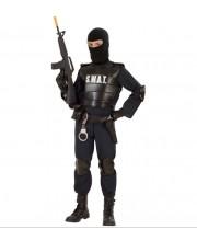 DISFRAZ DE AGENTE SWAT