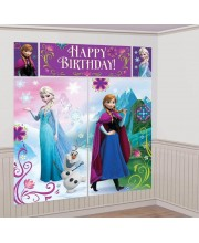 DECORACION PARED FROZEN