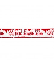 CINTA CAUTION ZOMBIE ZONE