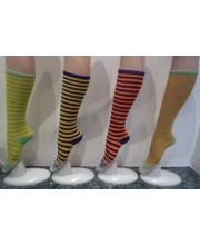 CALCETINES PAYASO FLUORESCENTE