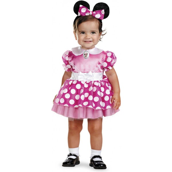 Disfraz de minnie rosa bebe comprar online en - Disfraces para bebes de un ano ...