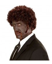 PELUCA AFRO PULP FICTION CON PERILLA