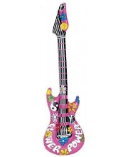 GUITARRA HIPPIE HINCHABLE FLOWER POWER