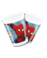 VASOS SPIDERMAN ULTIMATE 8 UNIDADES