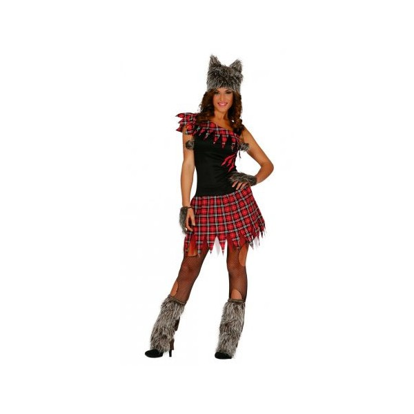 Disfraces para halloween de mujer lobo