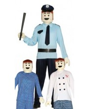SET PLAYMOBIL CABEZA Y MANOS