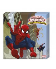 SERVILLETAS SPIDERMAN ULTIMATE 20 UNIDADES