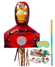 KIT PIÑATA MEJICANA IRON MAN