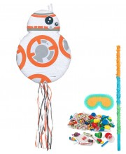 KIT PIÑATA MEJICANA STAR WARS BB-8