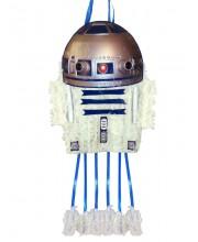 PIÑATA SEDA STAR WARS R2-D2