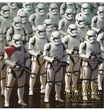 SERVILLETAS STAR WARS EP VII STORMTROOPER 20 UNIDADES