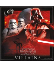 SERVILLETAS STAR WARS VILLANOS CLASSIC