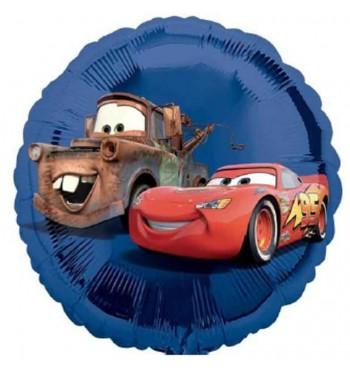 GLOBO DE HELIO CARS AZUL