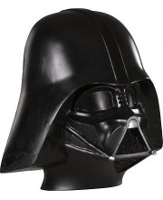 CARETA CASCO DARTH VADER MEDIA MASCARA CON GOMA