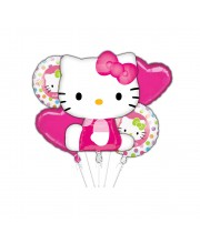 BOUQUET DE GLOBOS HELLO KITTY