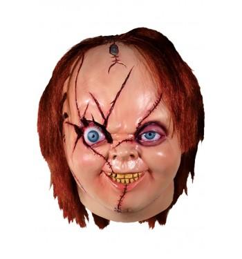Careta De Chucky Muñeco Diabolico Deluxe Comprar Online En