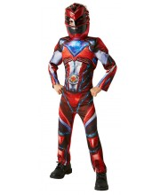 DISFRAZ DE POWER RANGER ROJO MOVIE DELUXE
