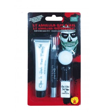 KIT MAQUILLAJE GLOW IN DARK