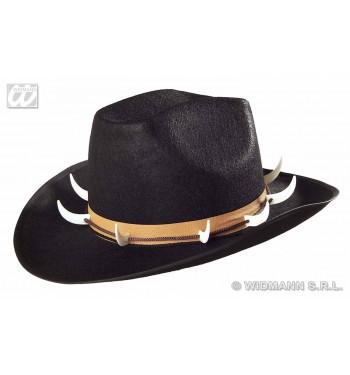 b9cc5cf47836e SOMBRERO NEGRO COCODRILO CON COLMILLOS - comprar online en ...