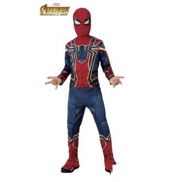 Disfraz De Spiderman Iron Infinity War Classic Comprar Online En