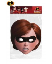 CARETA DE LOS INCREIBLES MRS. INCREIBLE CARTON PLASTIFICADO