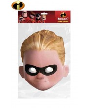 CARETA DE LOS INCREIBLES DASH CARTON PLASTIFICADO