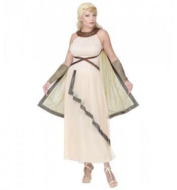 Griega Vestido De Romana Largo Disfraz O sCohQrxtBd