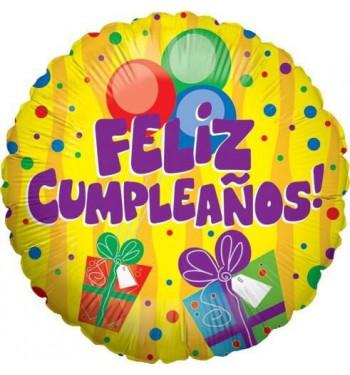 Globo De Helio Feliz Cumpleaños Regalos Comprar Online En