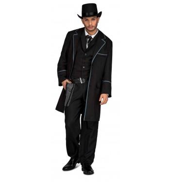 Disfraz Vaquero Abrigo Vaquero Negro De Disfraz Negro De Abrigo De Disfraz aCwHTxaqnS