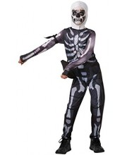 DISFRAZ SKULL TROOPER FORTNITE PARA NIÑO