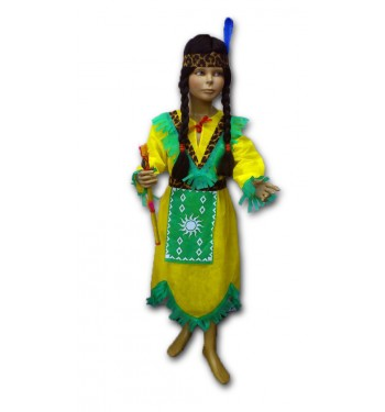 Disfraz de india barato