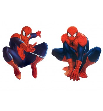 SPIDERMAN FIGURA MINI 2 UNI. ULTIMATE 30cm.