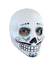 CARETA DELUXE CALAVERA DECORADA