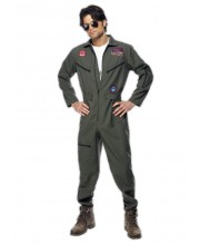 DISFRAZ DE AVIADOR ANTIGUO TOP GUN
