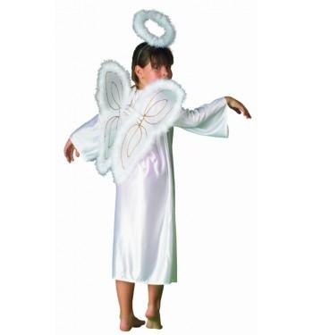 DISFRAZ DE ANGEL CON ALAS