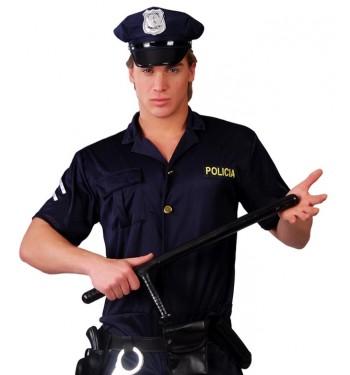 PORRA POLICIA CON MANGO 60 CM.