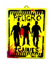 CARTEL PELIGRO ZOMBIES