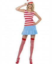 DISFRAZ DE WALLY WHERE IS WALLY CHICA SEXY