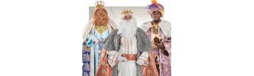 Disfraces de Reyes Magos y para el belén