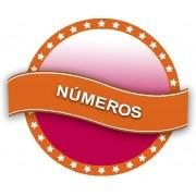 Globos Helio Numeros