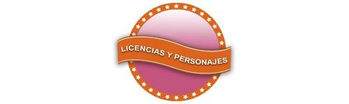Licencias y Personajes Rosa