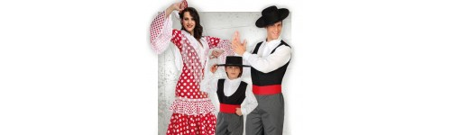 Disfraces de Sevillana y Cordobes para Comparsas