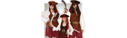 Disfraces de Piratas y Corsarios para Comparsas