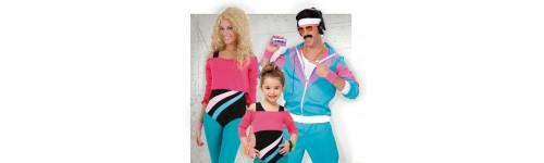 Disfraces de Años 80 para Comparsas
